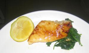 One of my favorite new recipes is Honey Lemon Garlic Orange Roughy