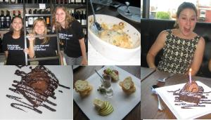 Our Max's Wine Dive opening day experience came complete with enthusiastic waitstaff, tasty dishes, happy hour wine specials, free dessert, and t-shirts!