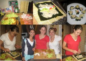 Sushi was easier to make than we thought, and it was fresh and delicious! Try Make Your Own Sushi Night!