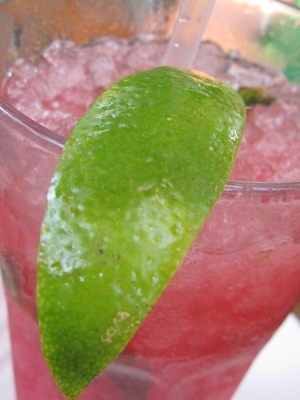 The Raspberry Mojito at Garrido's was the perfect summer thirst-quencher and so enjoyable on their relaxing back patio.