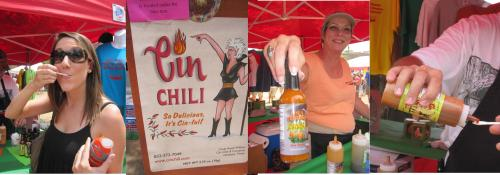 Houston-based, sinful Cin Chili is the maker of the hottest salsa I have ever consumed: The Devil's Lightening Hot Sauce with Jolokia!